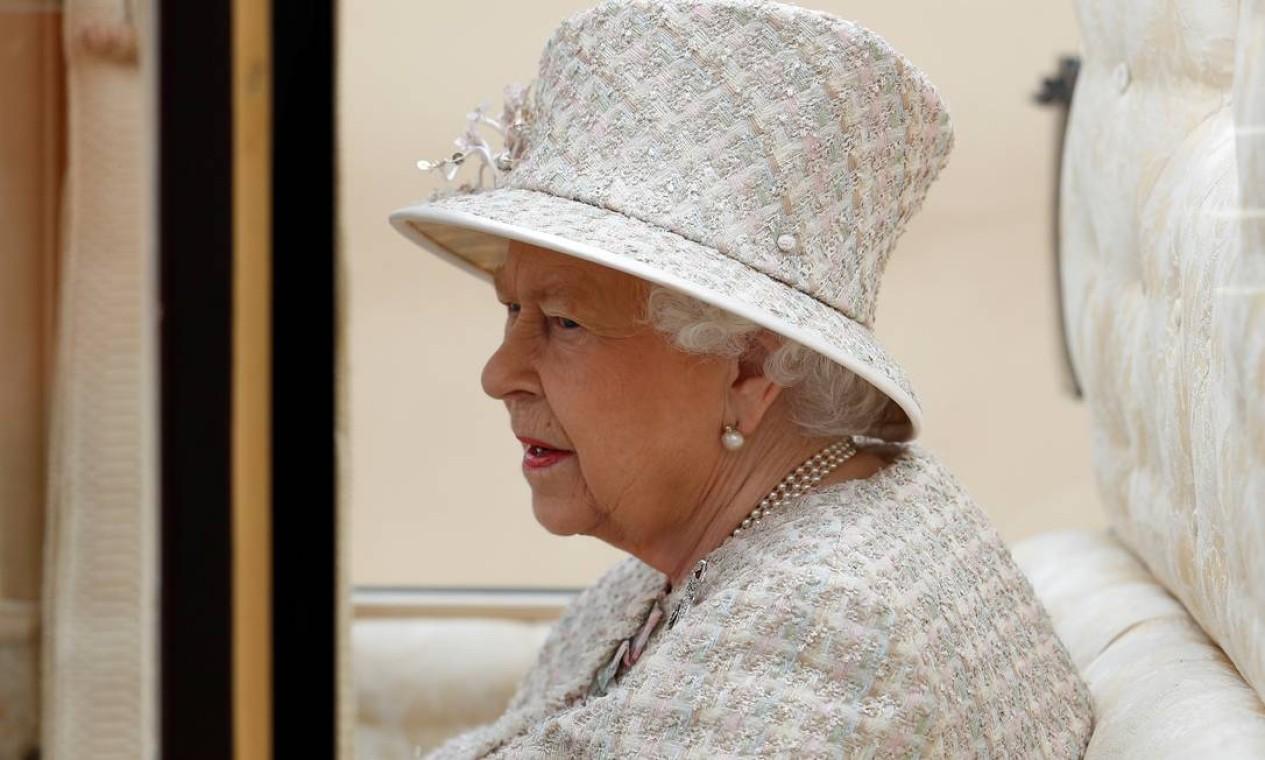 A rainha Elizabeth II aprovou pedido do primeiro-ministro Boris Johnson para suspender o Parlamento britânico entre 06 de setembro e 13 de outubro. Foto: Peter Nicholls / REUTERS