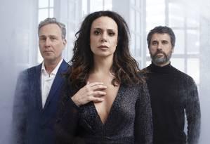 Isio Ghelman, Vanessa Gerbelli e Eriberto Leão formam triângulo amoroso em