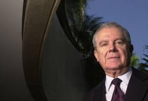 O ex-ministro do STF Sydney Sanches Foto: Carla Romero / Carla Romero/Valor 24/06/02