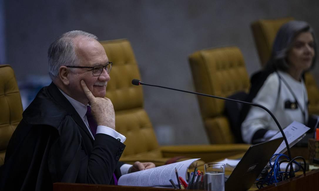 No despacho, o ministro Edson Fachin fez referência a possibilidade de reabrir as investigações caso apareçam novas provas Foto: Daniel Marenco / Agência O Globo / 08-08-2019