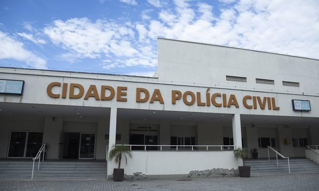 A Cidade da Polícia, para onde os presos são levados Foto: Gabriel Monteiro/ Agência O Globo / 01-05-2019