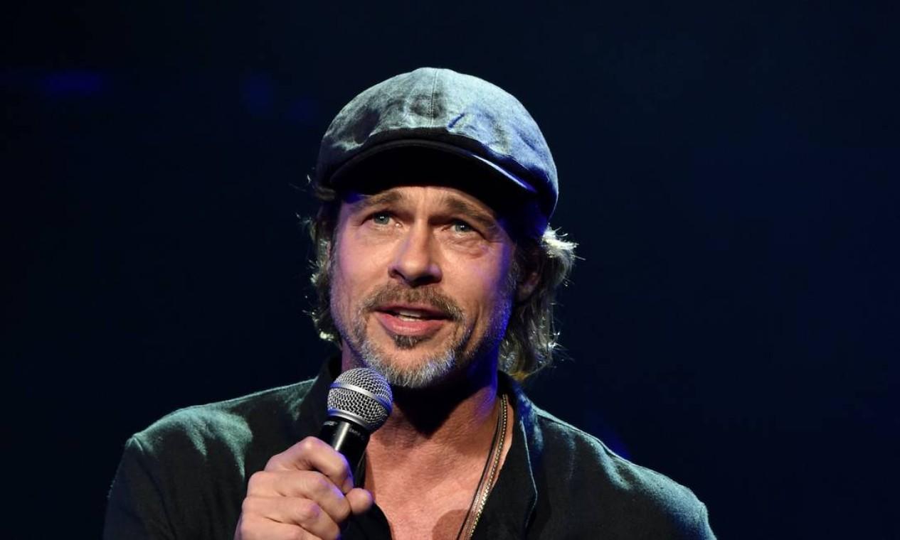 Em janeiro, o ator marcou presença em evento com a peça Foto: Kevin Mazur / Getty Images for The Chris Corne