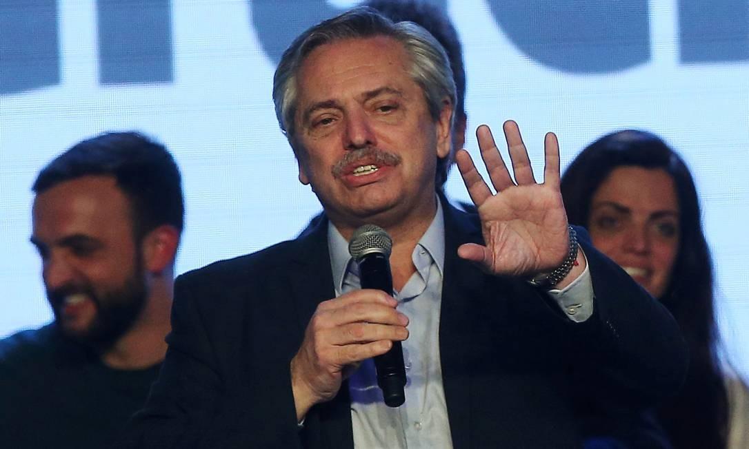 Alberto Fernandez: não a plano do governo. Foto: Agustin Marcarian / REUTERS