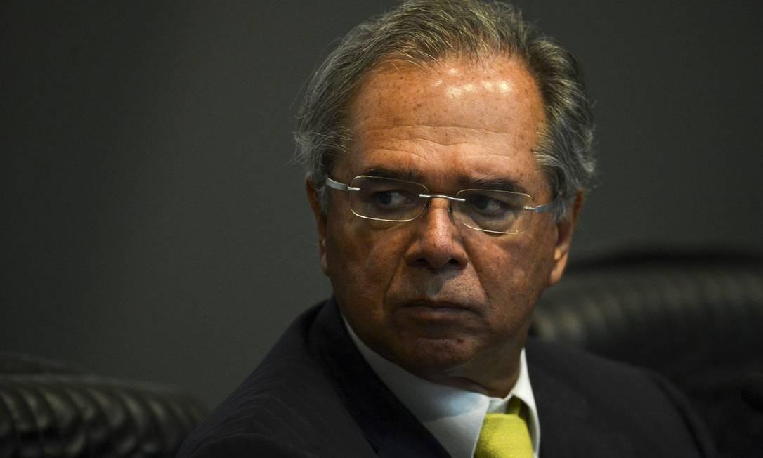 O Ministro da Economia, Paulo Guedes Foto: Marcelo Camargo / Agência Brasil