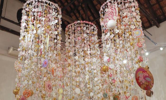 'Gamboa Gamboa II', de Beatriz Milhazes Foto: Gabi Carreira/Divulgação