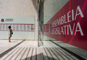 Fachada da Assembleia Legislativa de Sao Paulo (Alesp), em 29/03/2016 Foto: Pedro Kirilos / Agência O Globo