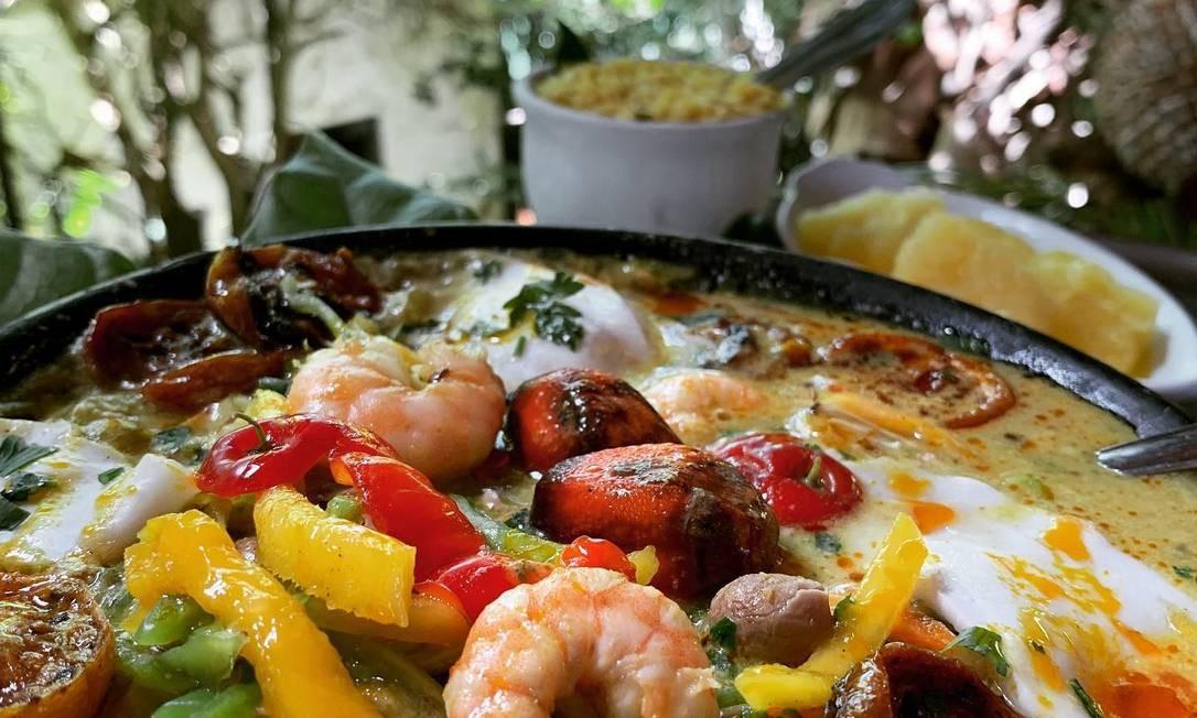Restaurante Paraíso Tropical Foto: Reprodução