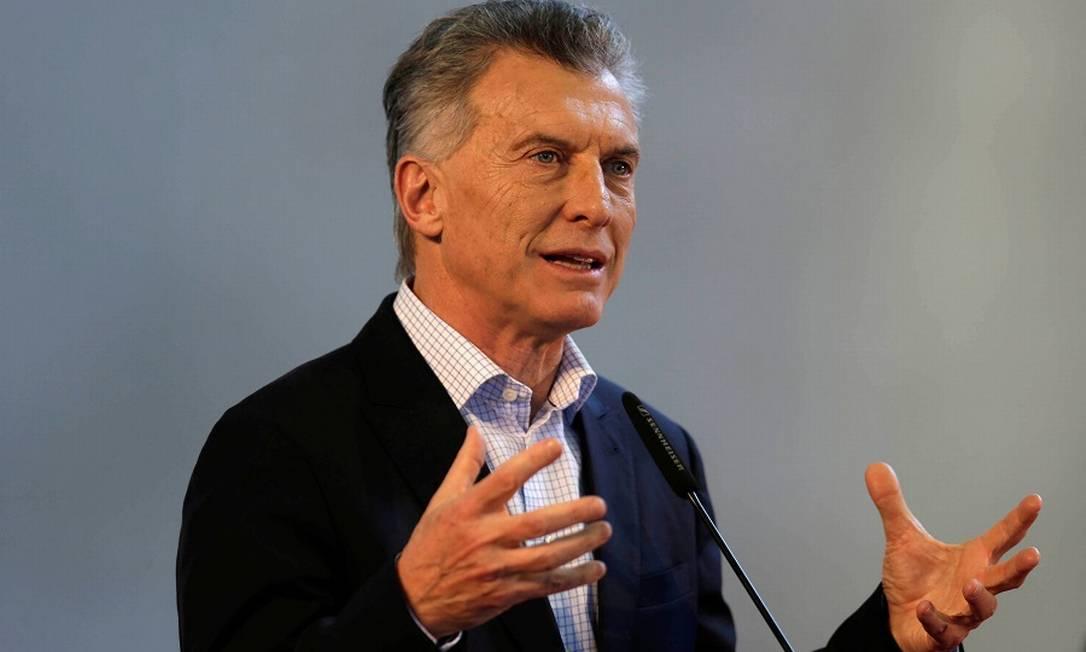Mauricio Macri Foto: JORGE ADORNO / REUTERS