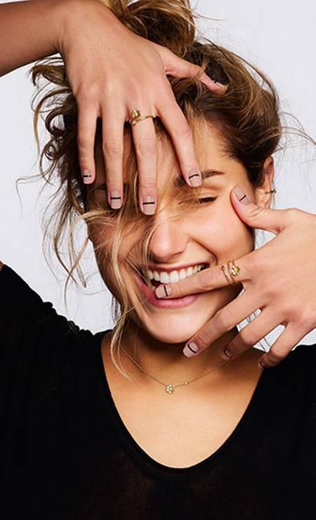 Em 2018, Sasha também foi rosto da My Collection Foto: Divulgação
