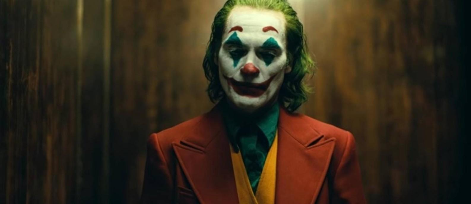 """Joaquin Phoenix em cena de """"Coringa"""" Foto: Reprodução"""