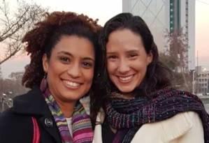 """""""Não me parece que a resposta a respeito de quem mandou matar Marielle não esteja sendo revelada por incompetência, acredito que seja mesmo um jogo político"""", disse Mônica, viúva de Marielle Foto: Reprodução / TV Globo"""