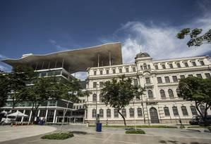 O Museu de Arte do Rio, na Praça Mauá Foto: Ana Branco / Agência O Globo