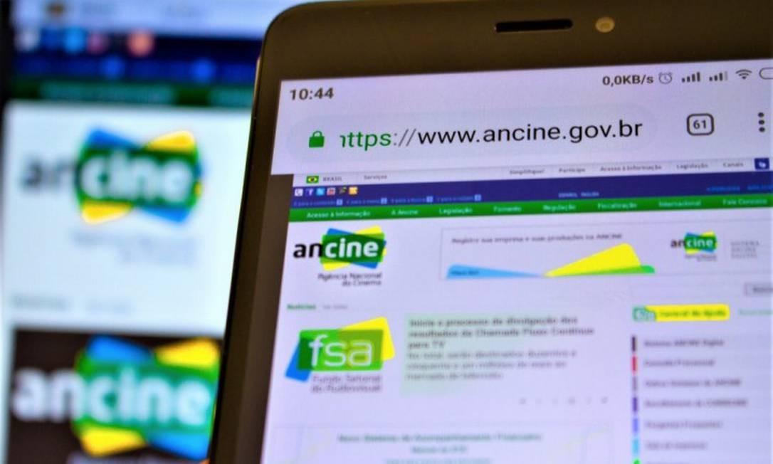 Ancine virou alvo de investigação da PF Foto: A7 Press / Agência O Globo