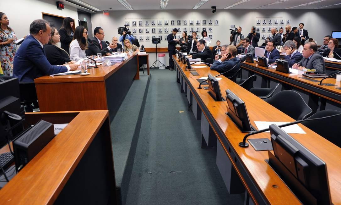 O grupo de trabalho volta a se reunir na próxima semana Foto: Cleia Viana/Câmara dos Deputados