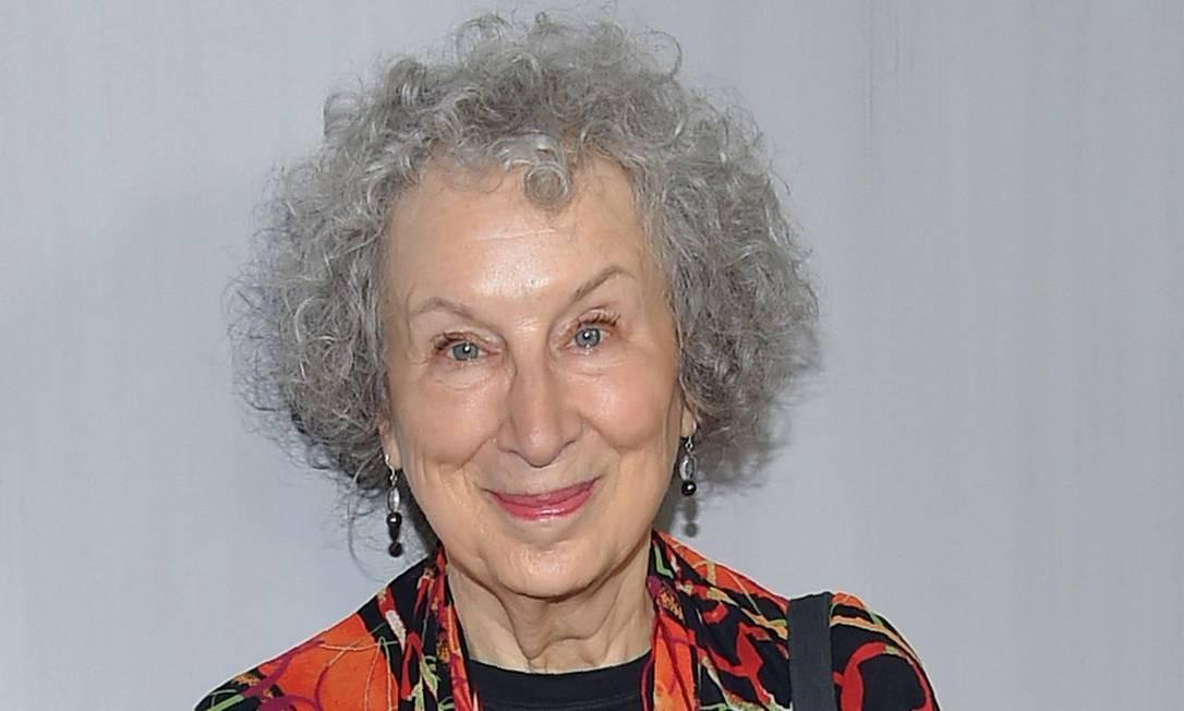 A canadense Margaret Atwood, que concorre ao Man Booker Prize pela sequência de