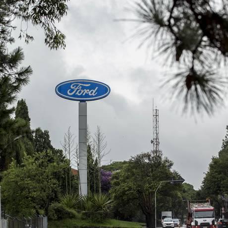 Fábrica da Ford em São Bernardo do Campo Foto: Edilson Dantas / Agência O Globo