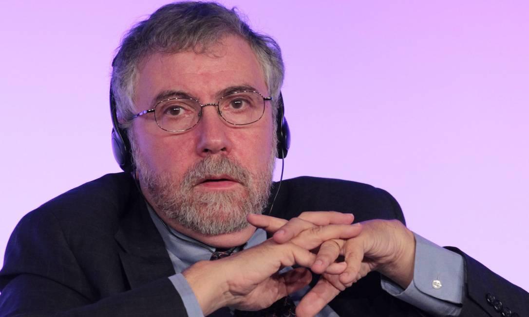 Paul Krugman: análise sobre crise argentina. Foto: Eliária Andrade / Agência O Globo