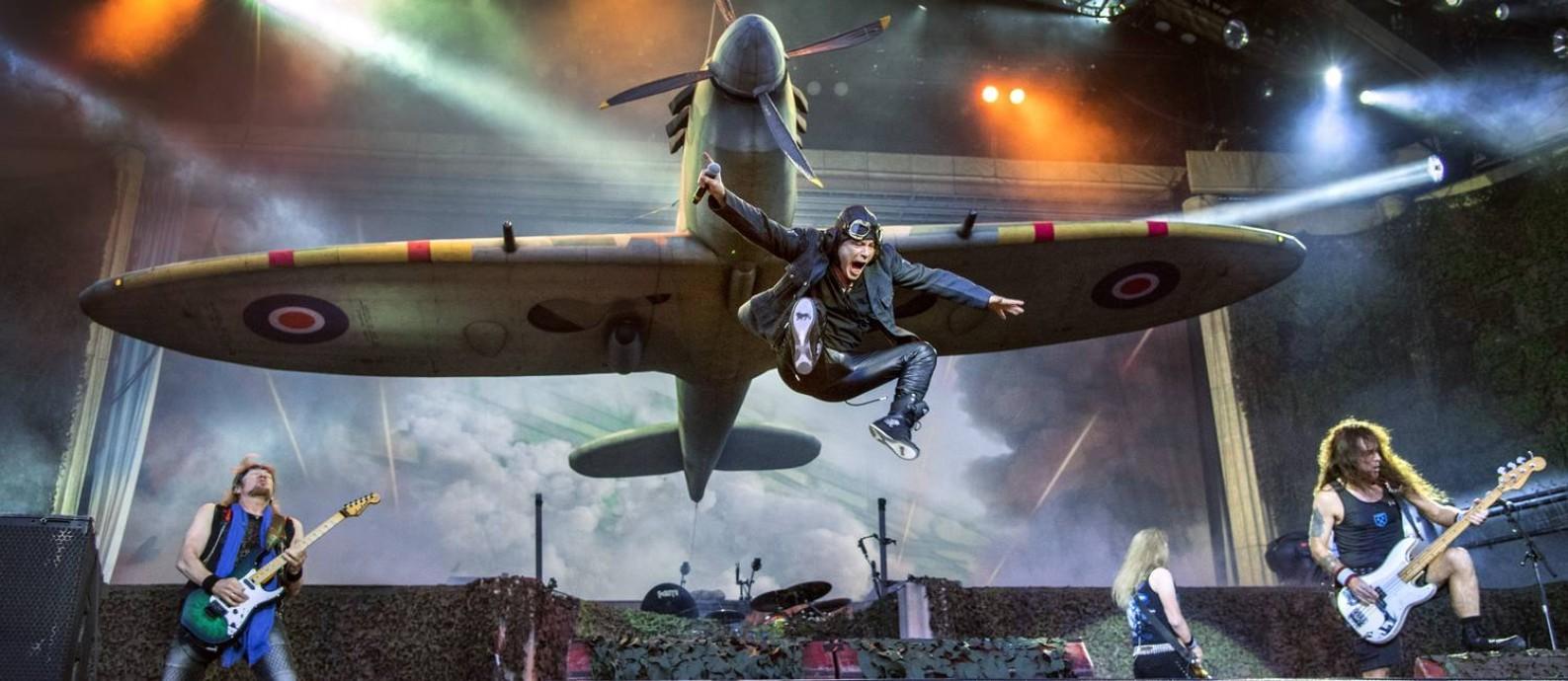 Iron Maiden tocará mais cedo que os outros headliners do Rock in Rio Foto: Claudio Bresciani / Divulgação