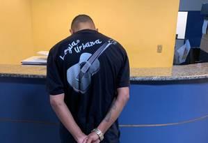 Yago Meirelles Nunes da Silva, de 27 anos, conhecido como Gaguinho da Grota, é apontado como um dos chefes do tráfico da comunidade da Grota, em Niterói Foto: Divulgação/ Pmerj