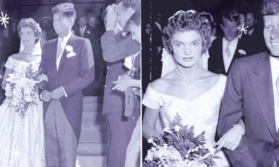 O Vestido De Noiva De Jacqueline Kennedy Foi Feito Por Uma