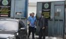 Garotinho deixa o presídio de Benfica, após decisão do desembargador Siro Darlan Foto: Fabiano Rocha / O Globo