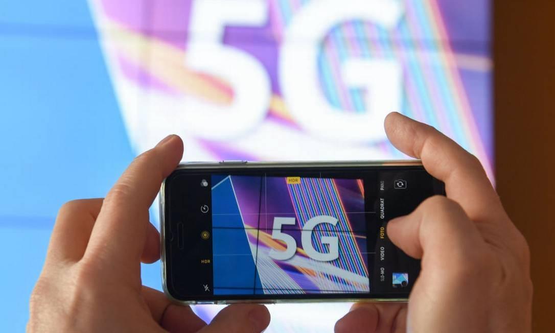 Tecnologia 5G está sendo adotada em diversos países do mundo Foto: Arne Dedert / picture alliance via Getty Image
