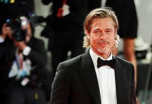 Brad Pitt no lançamento de 'Ad Astra' no Festival de Veneza Foto: YARA NARDI / REUTERS