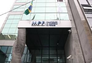 Fachada do prédio do Ministério Público Federal do Paraná Foto: Divulgação
