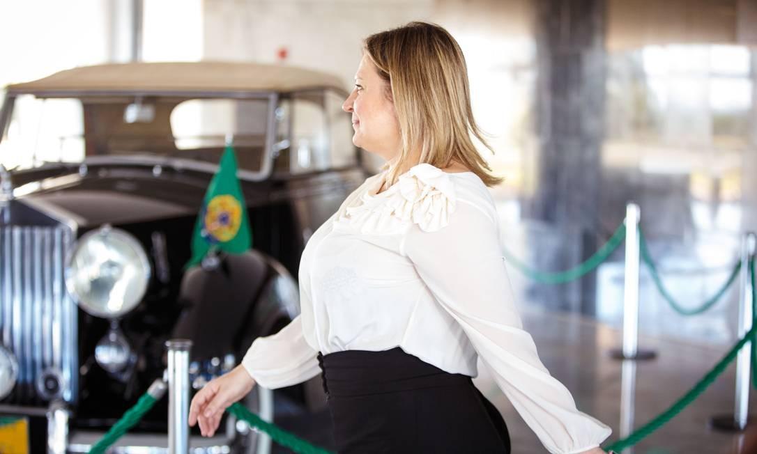 A deputada reafirmou que é pré-candidata à Prefeitura de São Paulo Foto: Daniel Marenco / Agência O Globo