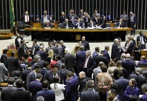 Câmara termina votação de reforma que beneficia partidos políticos Foto: Agência Câmara
