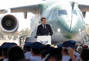 Bolsonaro vai anunciar na quinta-feira vetos à lei do abuso de autoridade Foto: ALAN SANTOS / AFP