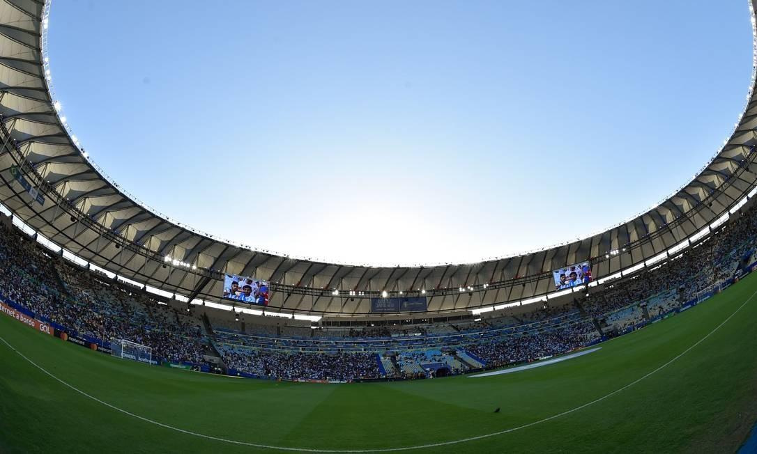 Maracanã sediou final da Copa América Foto: DOUGLAS MAGNO / AFP