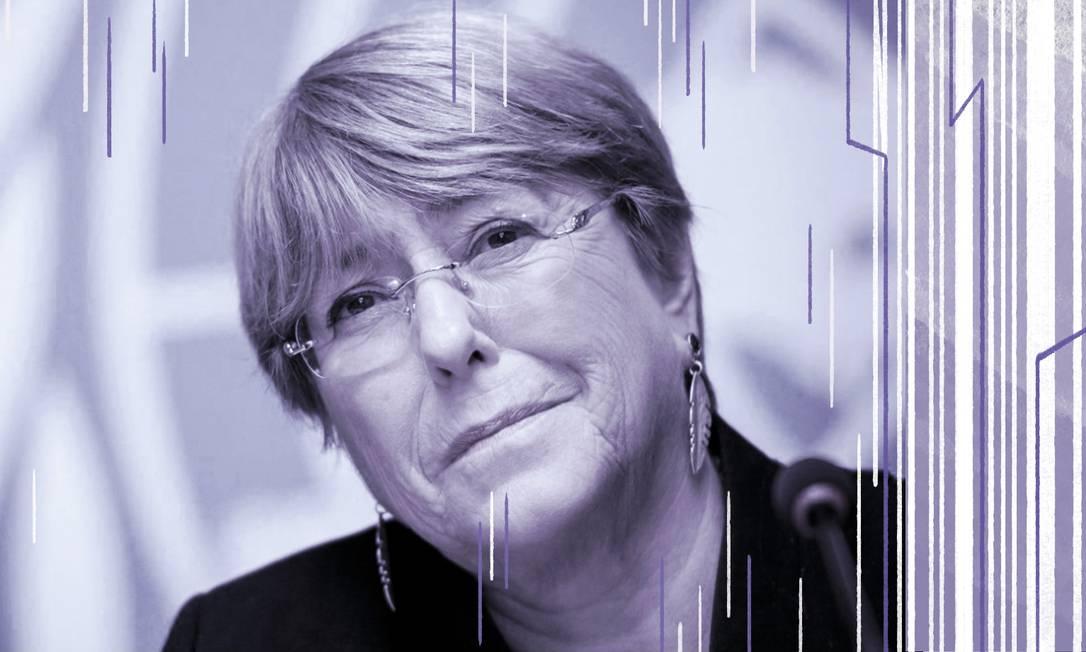 Michelle Bachelet: trajetória da comissária das Nações Unidas para os Direitos Humanos é marcada por pioneirismo na política e discurso ativo pelos direitos das mulheres Foto: AFP