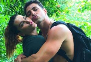 Mariana Goldfarb e Cauã Reymond Foto: Reprodução/ Instagram