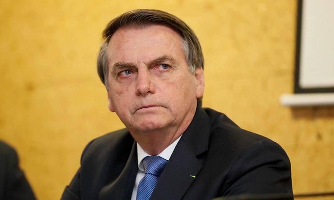 Presidente Jair Bolsonaro Foto: Isac Nóbrega/PR