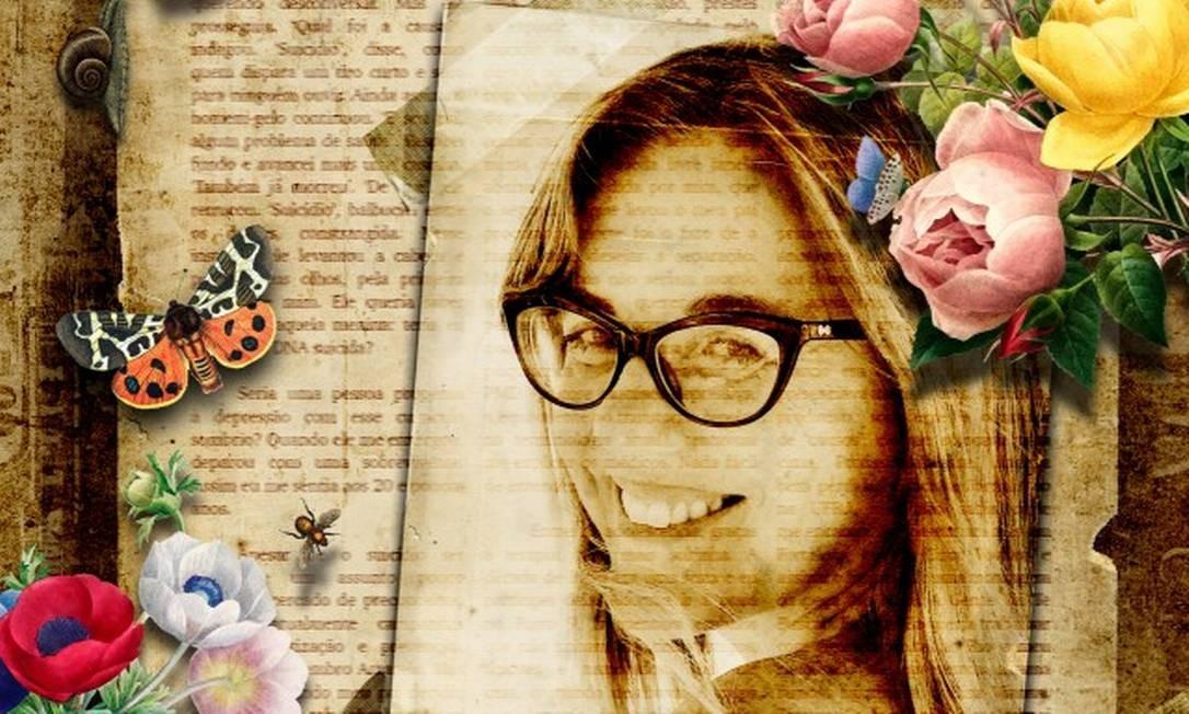 Marcia Disitzer Foto: Foto de Eduardo Alonso com arte de Silvana Mattievich