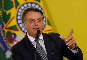 O presidente indicou o subprocurador Augusto Aras para comandar a PGR Foto: ADRIANO MACHADO / REUTERS