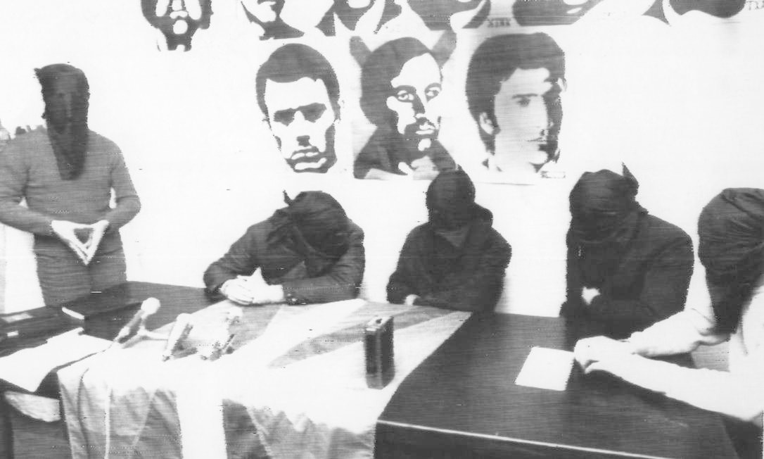 Integrantes do ETA Foto: Agência O Globo