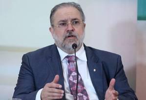 Augusto Aras foi indicado para comandar a PGR na semana passada Foto: Agência O Globo