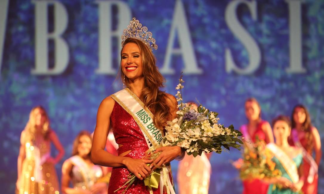 Nascida no Estado do Rio, Carolina Stankevicius, de 24 anos, foi escolhida como Miss Brasil Beleza Internacional Foto: Marcia Foletto / Agência O Globo