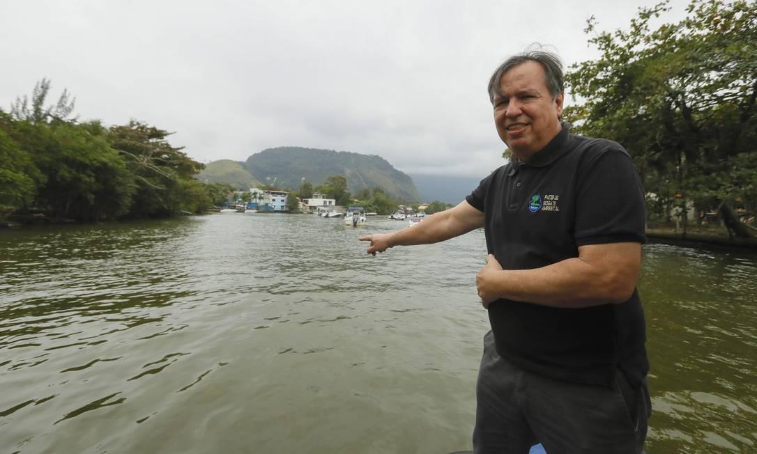 O ambientalista Donato Velloso é o idealizador do seminário, que está em sua 20ª edição Foto: Marcelo de Jesus / Agência O Globo