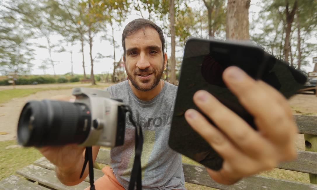 O fotógrafo Renato Wrobel vai ensinar técnicas para fotografar com celular e de pós-edição Foto: / Marcelo de Jesus