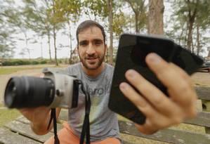 O fotógrafo Renato Wrobel vai ensinar técnicas para fotografar com celular e de pós-edição Foto: Marcelo de Jesus