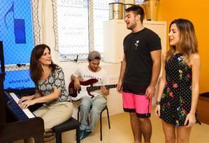 A escola começou como curso de piano e cresceu conforme a procura por outros instrumentos. A filial da Barra completará 20 anos em 2020 Foto: Bárbara Lopes