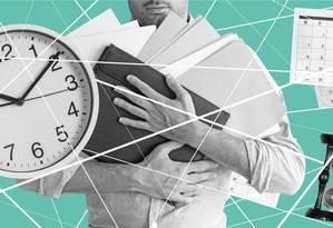 Reforma tributária: impostos tomam tempo de empresas. Foto: Editoria de Arte.