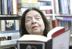 """A escritora brasileira Nélida Piñon vai falar sobre """"Os ditames da cultura"""" Foto: Marcos Ramos/25-04-2019"""