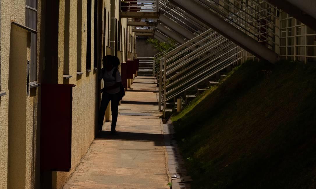 Em Itaúna (MG), traficantes também ocuparam um condomínio do Minha Casa Minha Vida Foto: Bárbara Ferreira / Agência O Globo