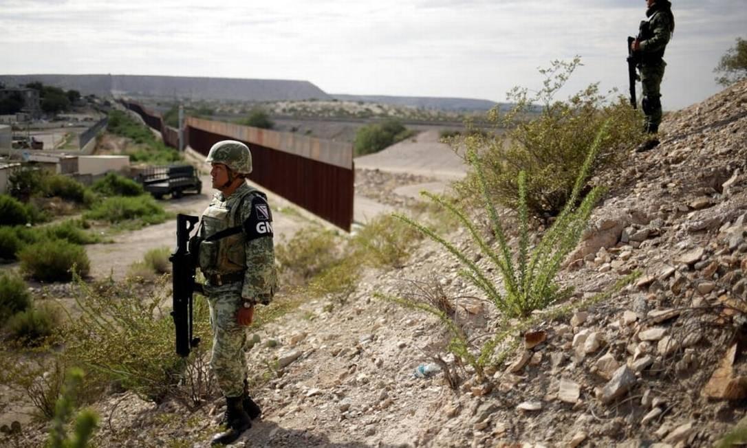 EUA relata queda nas detenções em fronteira em agosto com cooperação do México Foto: Jose Luis Gonzalez/Reuters