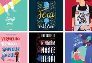 Livros juvenis com personagens com todo tipo de orientação sexual Foto: Reprodução