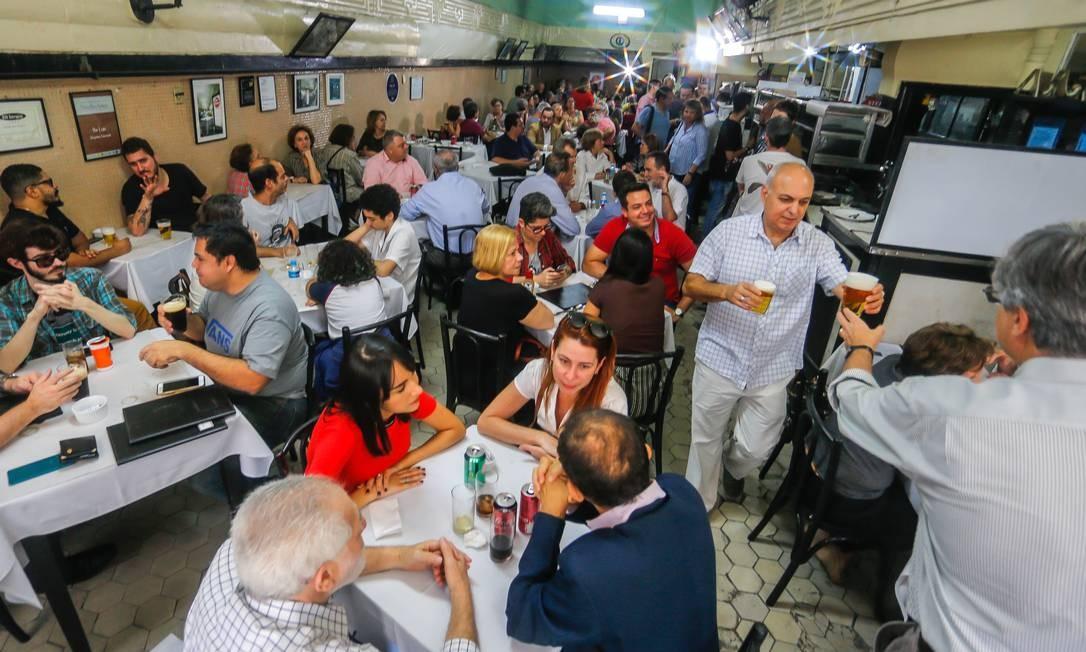 Rio de Janeiro 09/09/2019 O Bar Luiz se prepara para fechar no próximo sábado. Foto Marcelo Regua /Agência O Globo Foto: Marcelo Regua / Agência O Globo